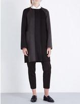 Jil Sander Panelled cashmere coat