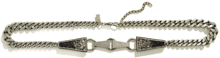 Lady Grey Lizzie Link Belt In Silver With Bismuth And Jet