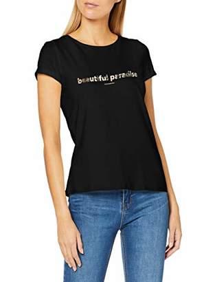 Comma Women's 87.909..8509 T-Shirt,(Manufacter Size: 44)