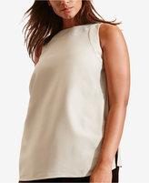 Lauren Ralph Lauren Plus Size Crepe Tank Top