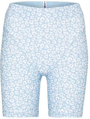 Adam Selman Sport French Cut high-rise shorts