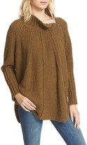 Free People Women's Spin Around Poncho Sweater