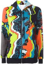Versace 'Jagged Baroque' print hoodie - women - Silk/Cotton/Spandex/Elastane/Viscose - 42