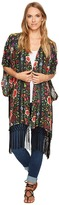 Johnny Was Emby Fringe Kimono Women's Clothing
