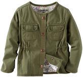 Osh Kosh Twill Cargo Jacket