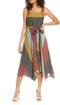French Connection Adita Sleeveless Midi Dress
