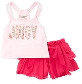 juicy couture (Girls 4-7) 2-Piece Tank & Chiffon Shorts Set
