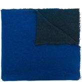 Faliero Sarti textured two tone shawl