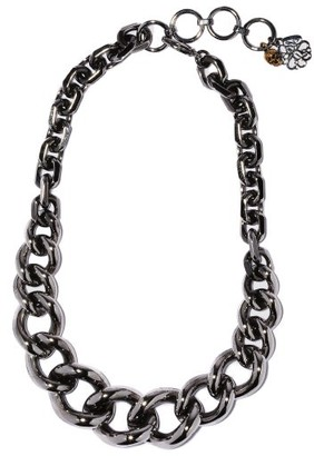 Alexander McQueen Chunky-chain Necklace - Silver