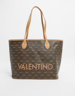 Mario Valentino Valentino By Valentino by Liuto multi logo large tote bag