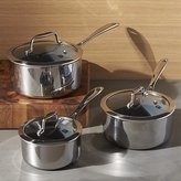 Crate & Barrel ZWILLING ® J.A. Henckels VistaClad Ceramic Non-Stick Sauce Pans with Lid