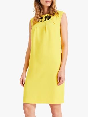Damsel in a Dress Kleo Beaded Dress, Yellow/Black