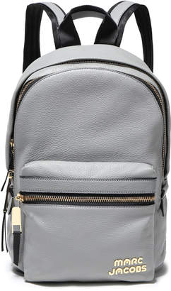 Marc Jacobs Pebbled-leather Backpack