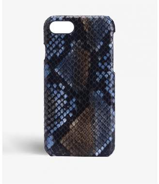 Factory The Case Iphone 7-8 Python Multicolor Sunset Blue
