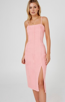 Finders Keepers ISLA DRESS washed pink