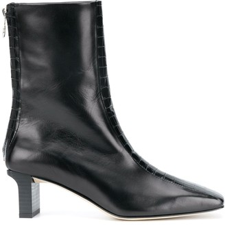 AEYDĒ Molly Square Toe Ankle Boots