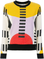 Henrik Vibskov colour-block knitted top