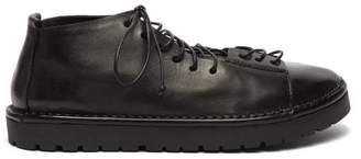 Marsèll Sancrispa Alta Leather Lace Up Boots - Mens - Black
