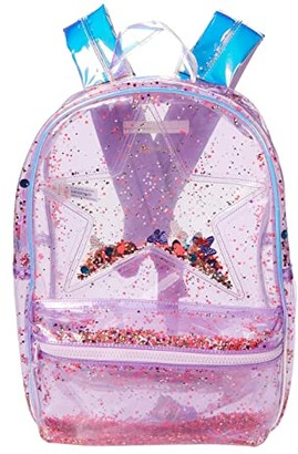 crewcuts by J.Crew Shake Up Sequin Star Backpack (Iridescent Sequin Multi) Backpack Bags