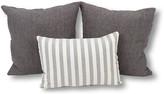 Kim Salmela Set of 3 Celeste Pillow Bundle - Blue/Ivory
