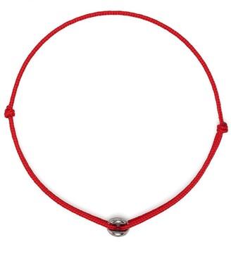 Le Gramme 1g Vintage Entrelacs Cord Bracelet
