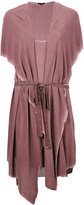 Unconditional hooded waistcoat dress - women - Rayon - S