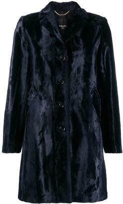 Paltò Textured Shearling Coat