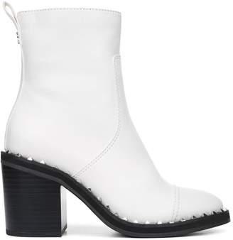 Sam Edelman Frazz Studded Block-Heel Booties
