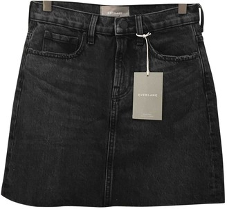 Everlane Black Denim - Jeans Skirts
