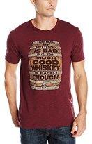 Lucky Brand Men's Whiskey Barrel Graphic Tee