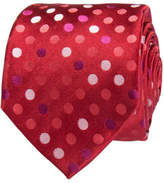Geoffrey Beene Multi Coloured Spot Tie