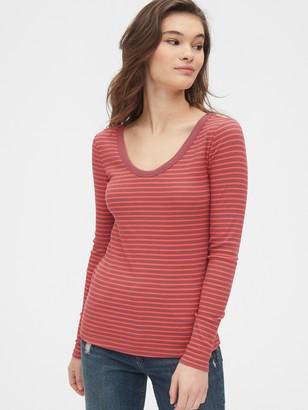Gap Stripe Scoopneck T-Shirt