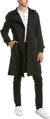Celine Wool-Blend Trench Coat