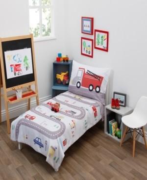 Everything Kids Road Trip 4-Piece Toddler Bedding Set Bedding