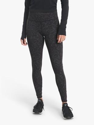 Athleta Rainier Reflective Leggings, Lynx Black
