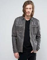 Goosecraft Leather Shirt