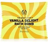 The Body Shop Vanilla Delight Bath Bomb, Fizzing Bubble Bath, 28g