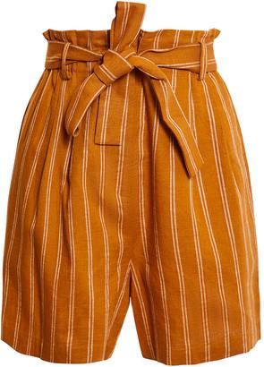 BCBGMAXAZRIA Tie Waist Shorts