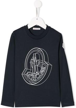 Moncler Enfant long sleeved T-shirt