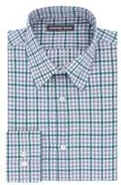 Geoffrey Beene Plaid Dress Shirt