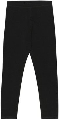 BURBERRY KIDS Logo stretch cotton leggings