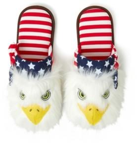 Dearfoams Unisex Americana Scuff Slipper, Online Only