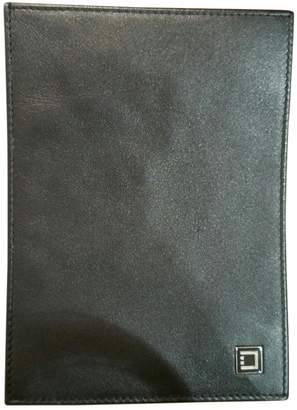 S.t. Dupont Black Leather Wallets