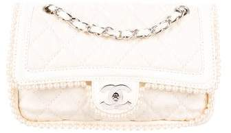 Chanel Pearl Double Flap Bag
