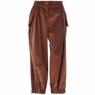 Acephala Baggy Brown Corduroy Trousers