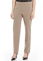 Kasper Stretch Crepe Slim-Fit Bootcut Pants