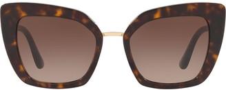 Dolce & Gabbana Eyewear Cate Eye Sunglasses