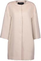 Giambattista Valli Llama and wool-blend coat