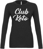 Indica Plateau Womens Club Keto Long Sleeve T-Shirt