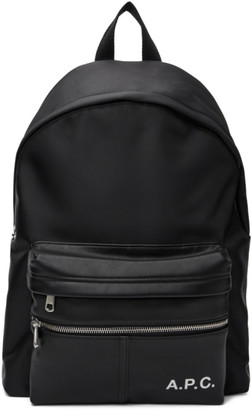 A.P.C. Black Camden Backpack